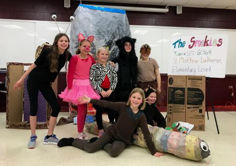 DI Destination Imagination 5th Grade at Affiliate State Competition