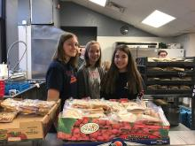 Our 8th grade students transported 400 lunches and 180 hats and gloves to the NOAH Project's Community Center for the homeless in Detroit. The students greeted and distributed lunches and beverages with kindness and compassion.